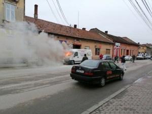 Lugoj Expres microbuz incendiu Lugoj 8