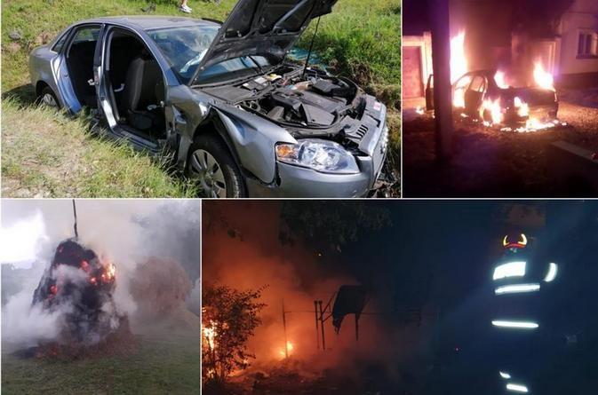 Lugoj Expres ISU Timiș - 198 de intervenții în weekend-ul de Rusalii SMURD salvare pompieri ISU Timiș intervenții incendii ajutor medical accidente