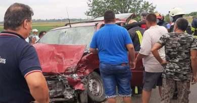 Lugoj Expres Accident cu trei victime, pe DJ 680 vătămare corporală Tapia persoane rănite Lugoj dosar penal DJ 680 accident DJ 680 accident