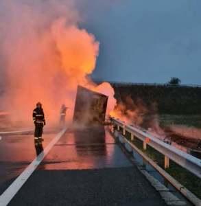 Lugoj Expres incendiu autocamion 4