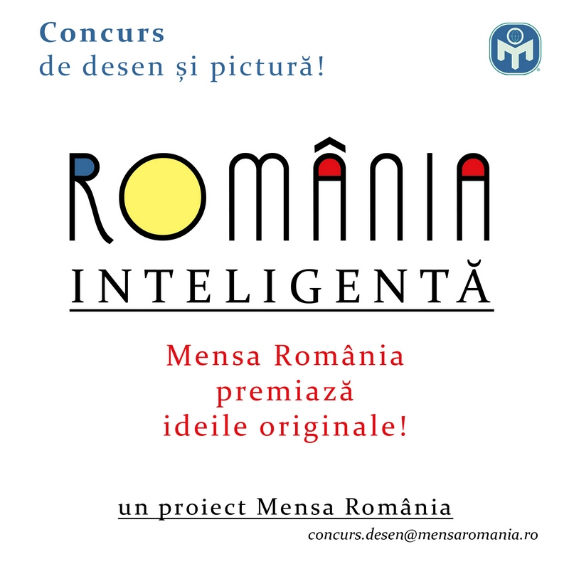 Lugoj Expres Mensa România premiază ideile originale! Concurs de desen și pictură pentru copii și tineri tineri România inteligentă premii pictura Mensa România Mensa Gifted Youth România Mensa desen copii concurs de desen concurs