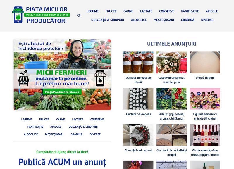 Lugoj Expres Platformă online deschisă micilor fermieri: PiataProducatorilor.ro promovare online produse locale produse agricole portal PiataProducatorilor.ro micii fermieri fermieri companie Aristarch Software