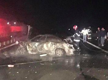 Lugoj Expres Accident cu 2 morți și 5 răniți, pe autostrada A1 trafic deviat Timișoara doi morți circulație oprită cinci răniți autostrada A1 Arad accident grav