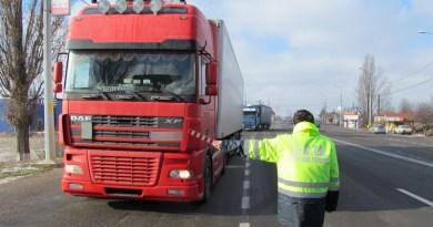 Lugoj Expres Controale pe drumurile județene! Se verifică tonajul camioanelor verificări trafic greu tonajul camioanelor tonaj șosele protocol limită tonaj drumuri județene controlul vehiculelor controale Consiliul Județean Timiș camioane