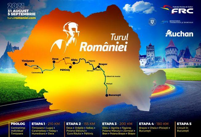 Lugoj Expres Turul României 2021 la ciclism va trece prin Lugoj Turul României la ciclism Turul României traseu Timișoara monumente istorice Mica Buclă Lugoj Federația Română de Ciclism eveniment ciclist cicliști ciclism Lugoj ciclism