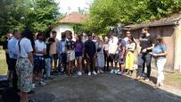 """Lugoj Expres Solidari pentru Lugoj! Tineri voluntari de pe patru continente reabilitează trei corpuri de clădire de la Școala de Arte """"Remus Tașcău"""" voluntari Turcia tineri voluntari Spania Solidari pentru Lugoj Școala de Arte"""