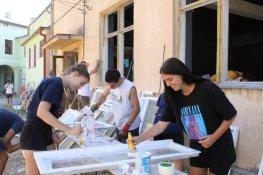 Lugoj Expres Centrul de tineret din Lugoj, pregătit de inaugurare voluntari Solidari pentru Lugoj Școala de Arte proiect de solidaritate proiect Lugoj inaugurare Fundația Județeană pentru Tineret Timiș FITT Corpul European de Solidaritate conferință de valorizare centru de tineret amenajare