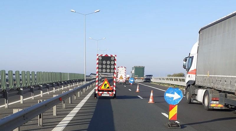 Lugoj Expres Trafic cu restricții pe autostrada A1 Lugoj-Timișoara trafic Timișoara restricții reparații Lugoj lucrări circulația încisă Belinț autostrada A1 atenție șoferi