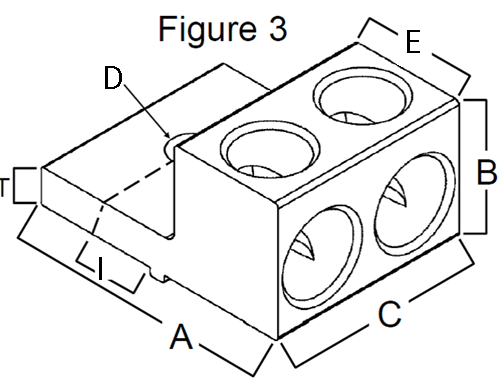 Dual Wire Electrical Lug Sizing and Dimensions Chart, IHI
