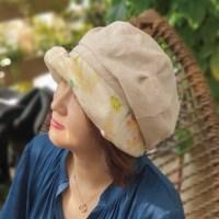 ★S/S 신상★루이엘 <b><레몬힐></b> 햇 숏챙 가벼운모자 외출용모자 귀여운모자 캐주얼한모자