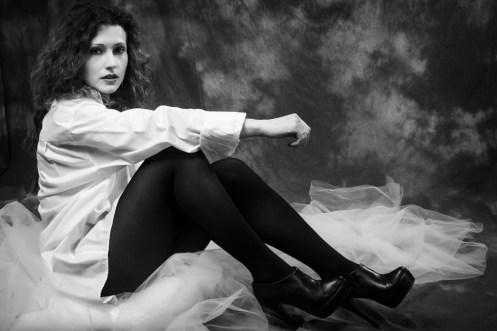 servizio fotografico in bianco e nero 8