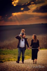 fotografie di famiglia in location
