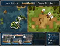 Lake Dragon Boss Fight