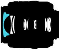 Diseño óptico del 18-55 VR