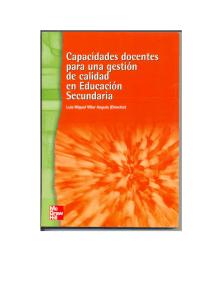 CAPACIDADES DOCENTES SECUNDARIA