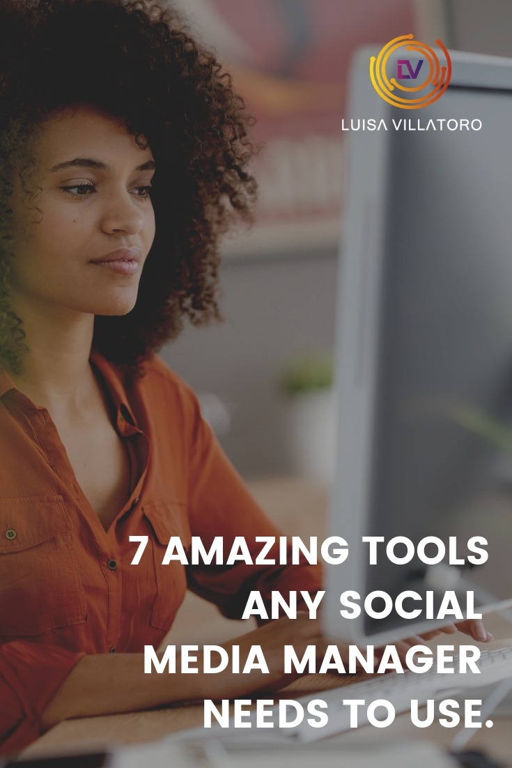 The Best Tools To Use As A Social Media Manager - Discover the trendiest and most essential tools you need to work with as a Social Media Manager in 2019. Scroll down to learn more.