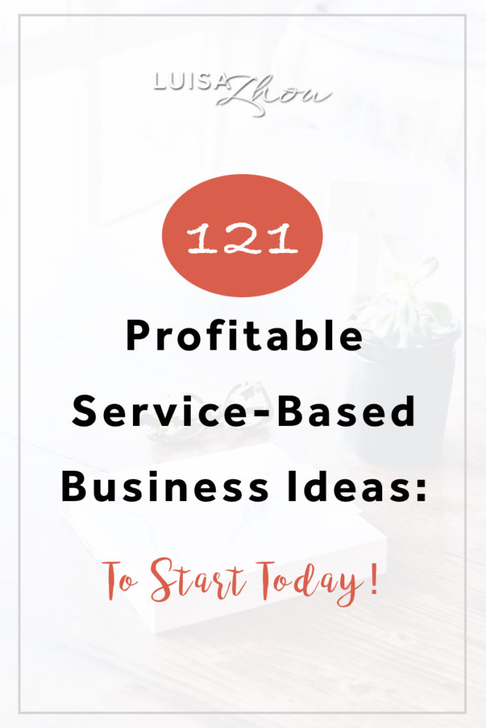 service business ideas pin