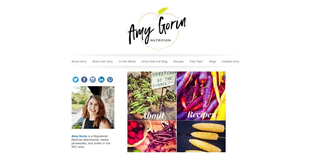 Amy Gorin Website