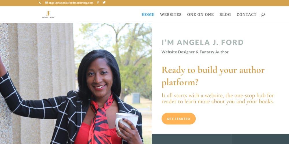 Angela J Ford website