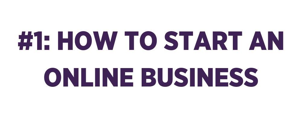 start an online business banner