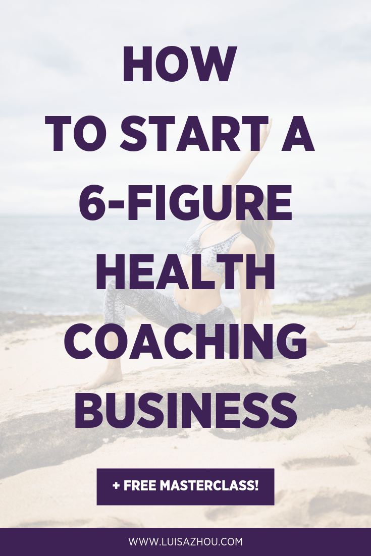 Become a health coach Pinterest