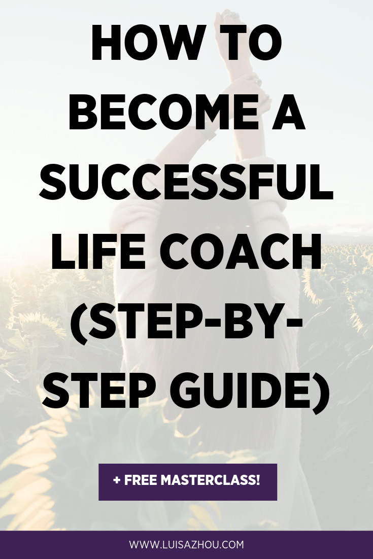 Become a life coach Pinterest