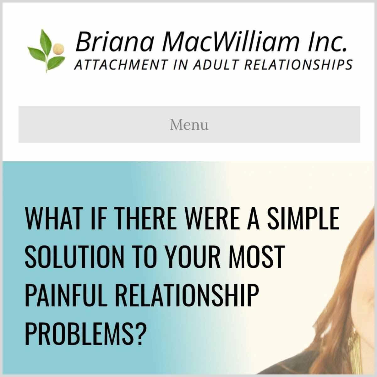 Briana MacWilliam website