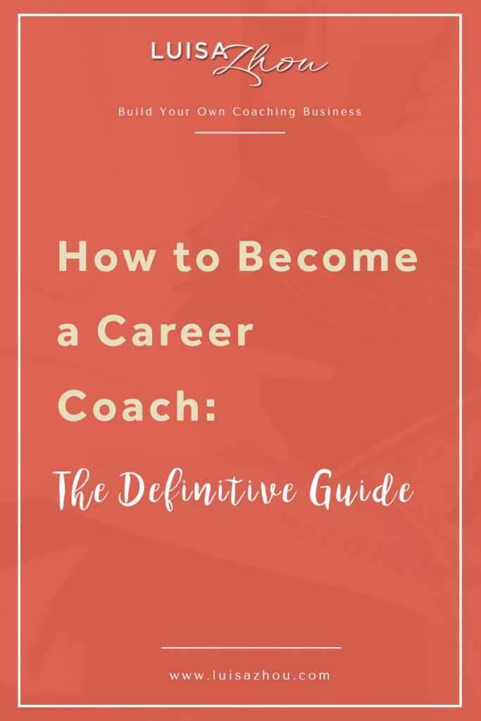 become a career coach pin