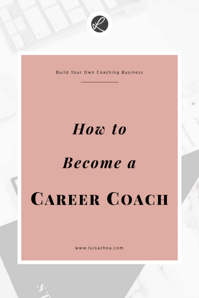 career coaching business pin