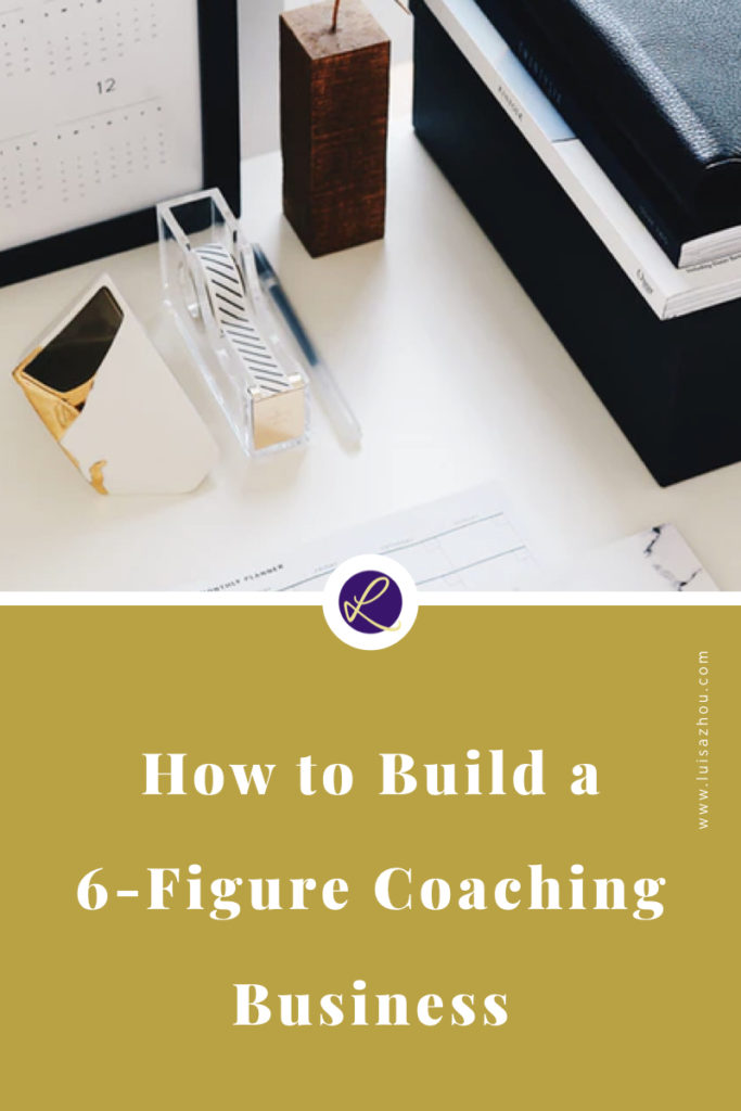 Pin how to build a coaching business