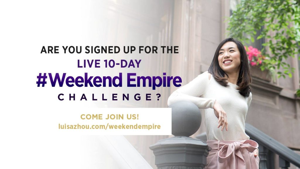 Weekend empire ad