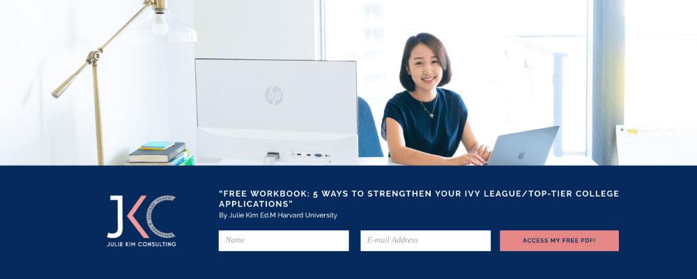 Julie Kim website