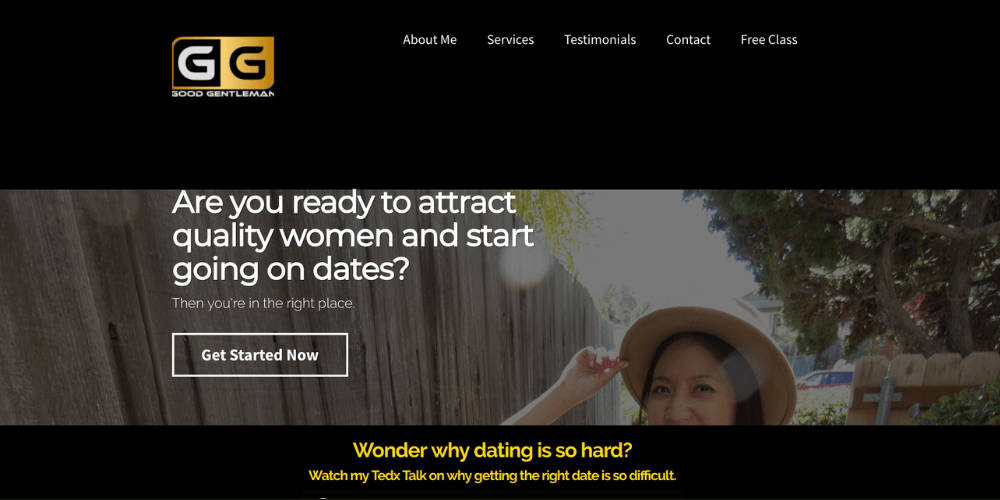 Relationship coaching website