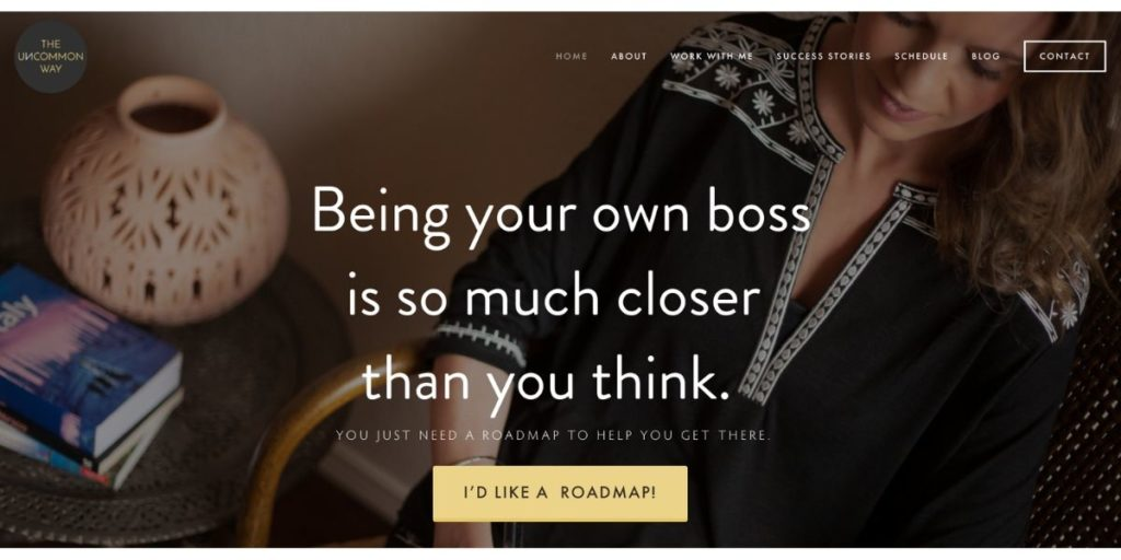The uncommon way website