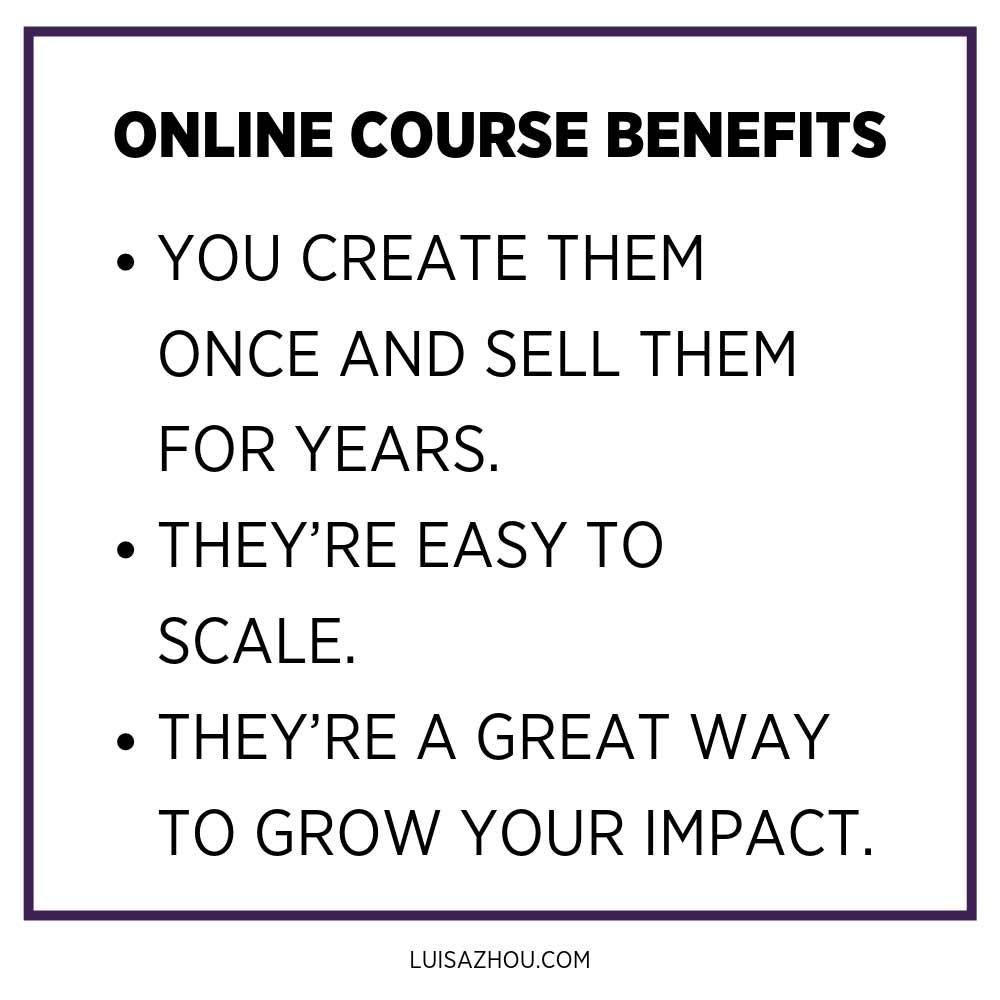 online course benefits