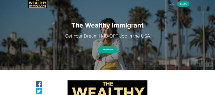 The wealthy immigrant course example