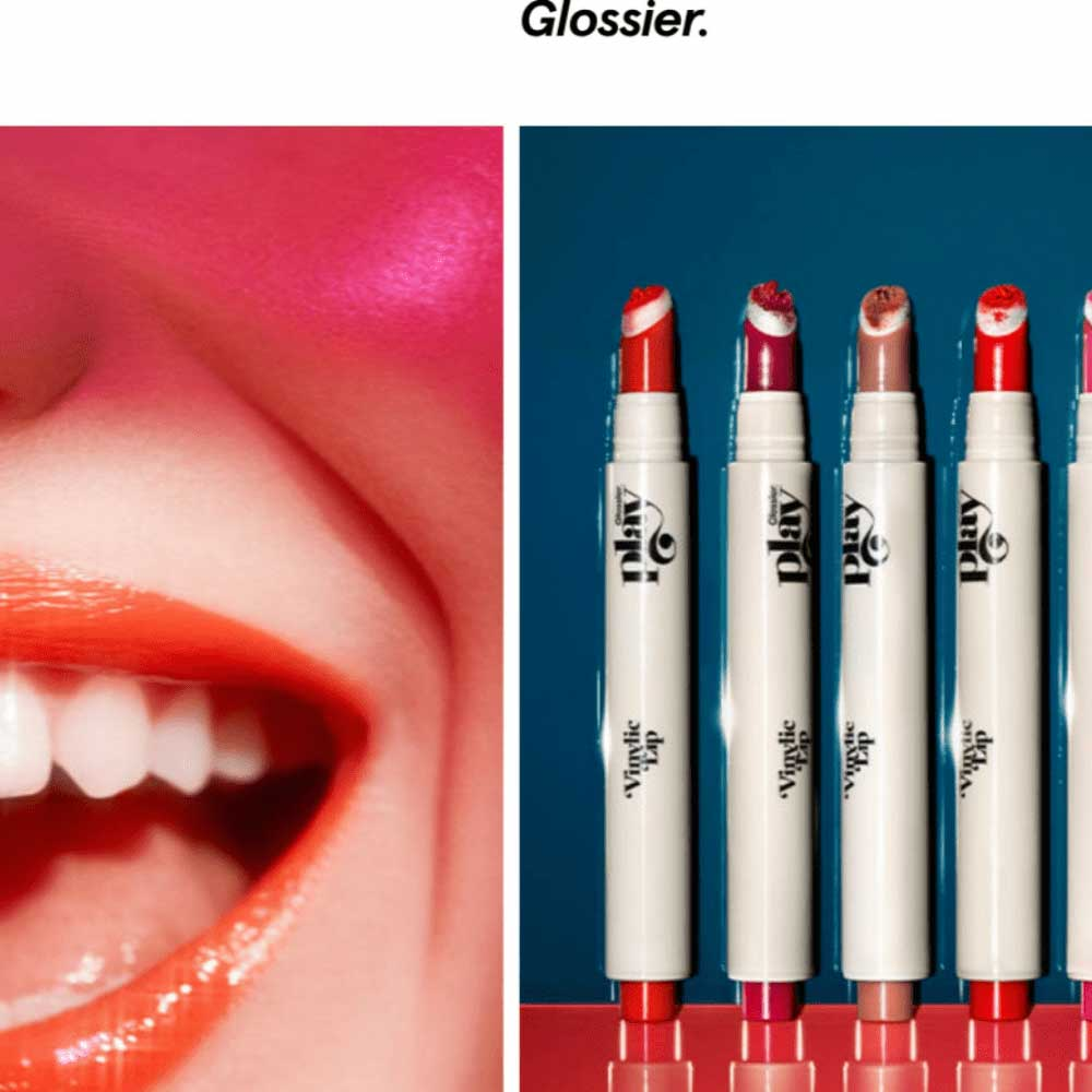 Glossier example