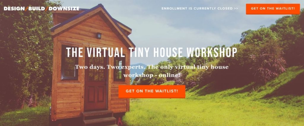Tiny House course page