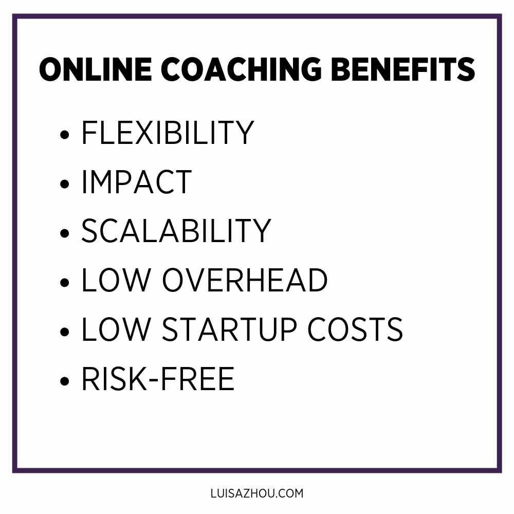 online coaching benefits
