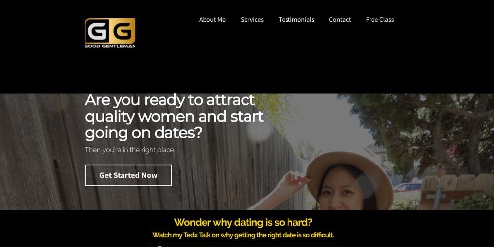 Good Gentleman website