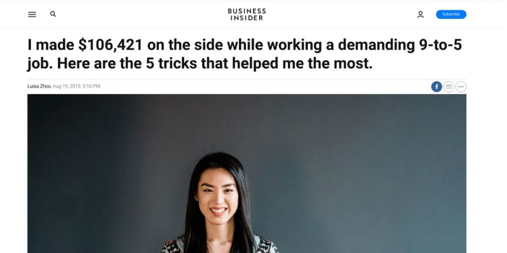 Business Insider guest post
