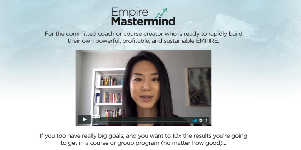 Empire Mastermind first page