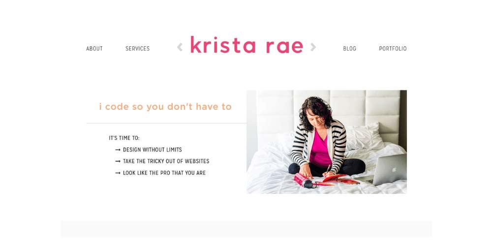 Krista Rae website