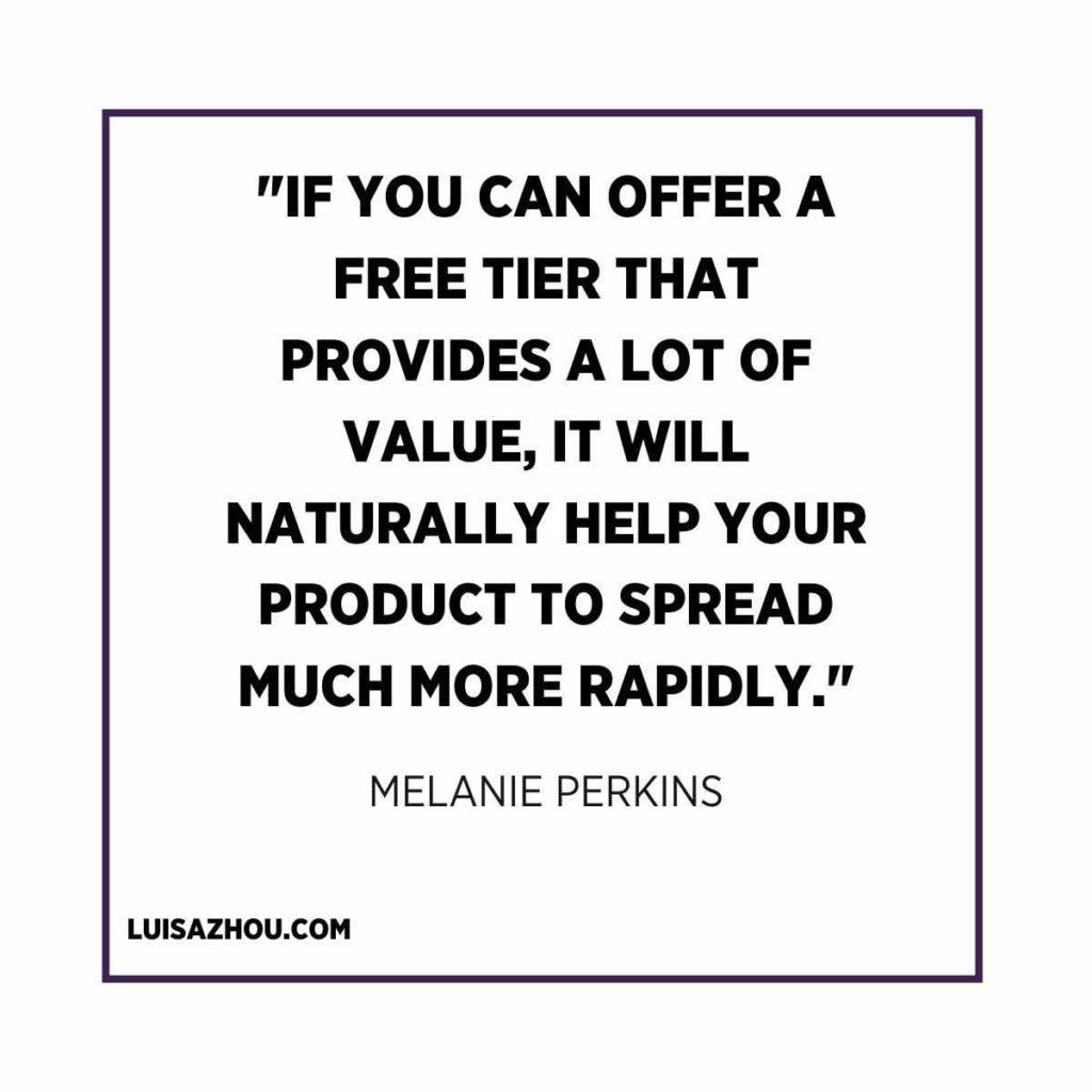 Melanie Perkins quote