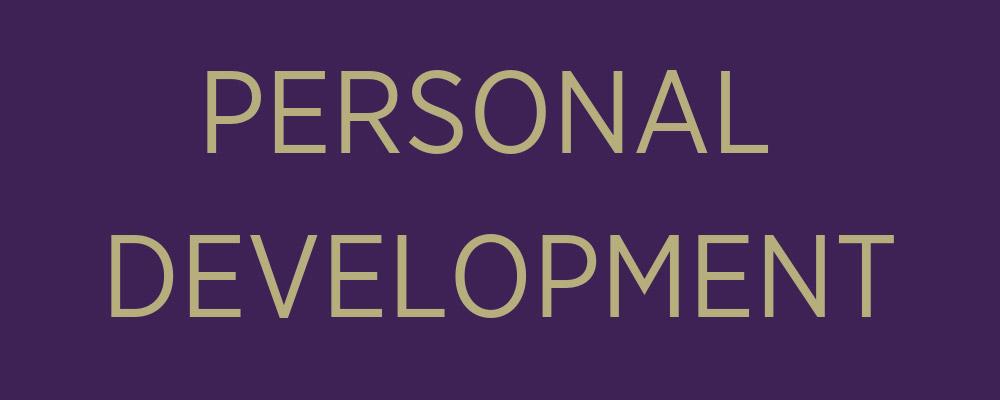 personal development banner