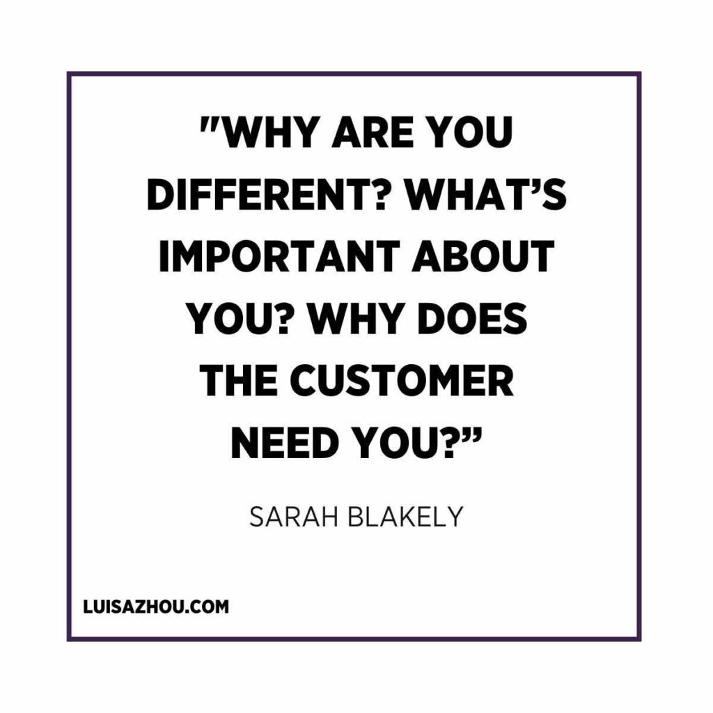 Sarah Blakely quote