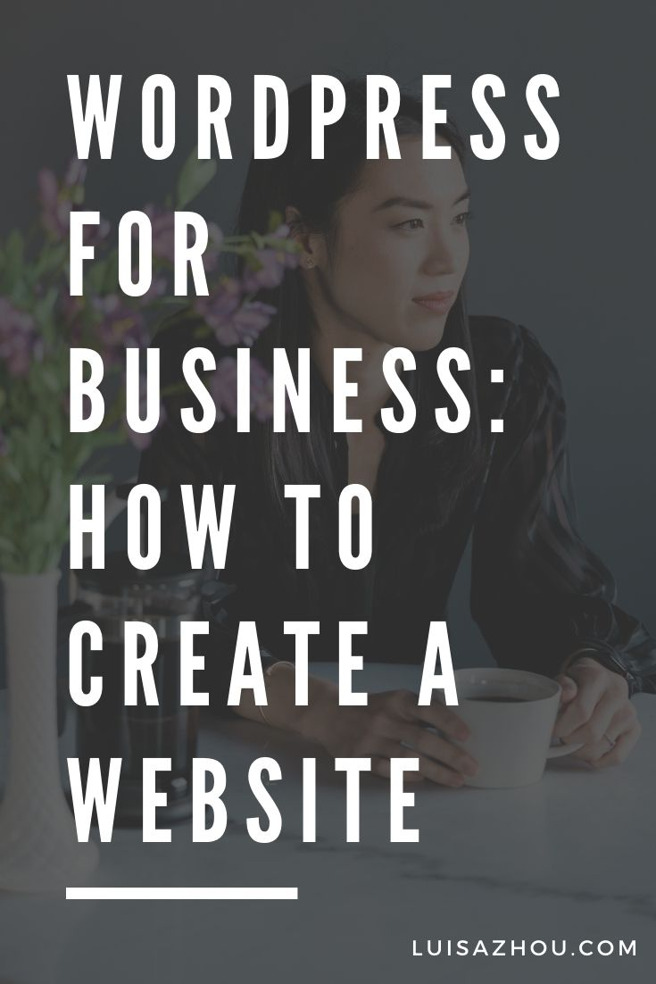 Wordpress for business pin