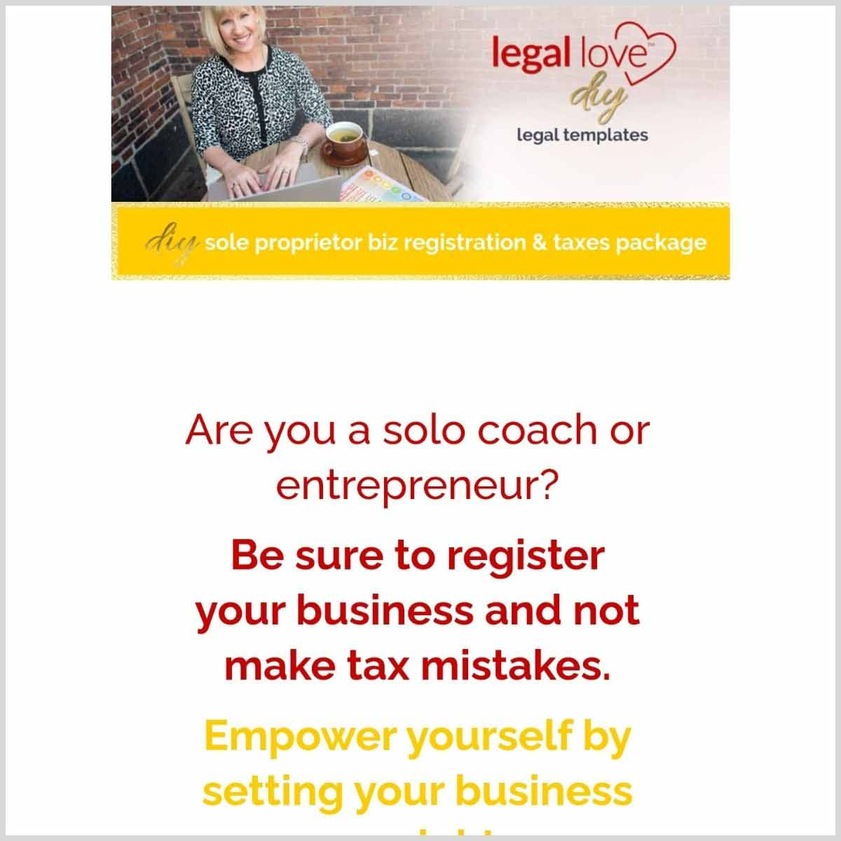 business registration kit