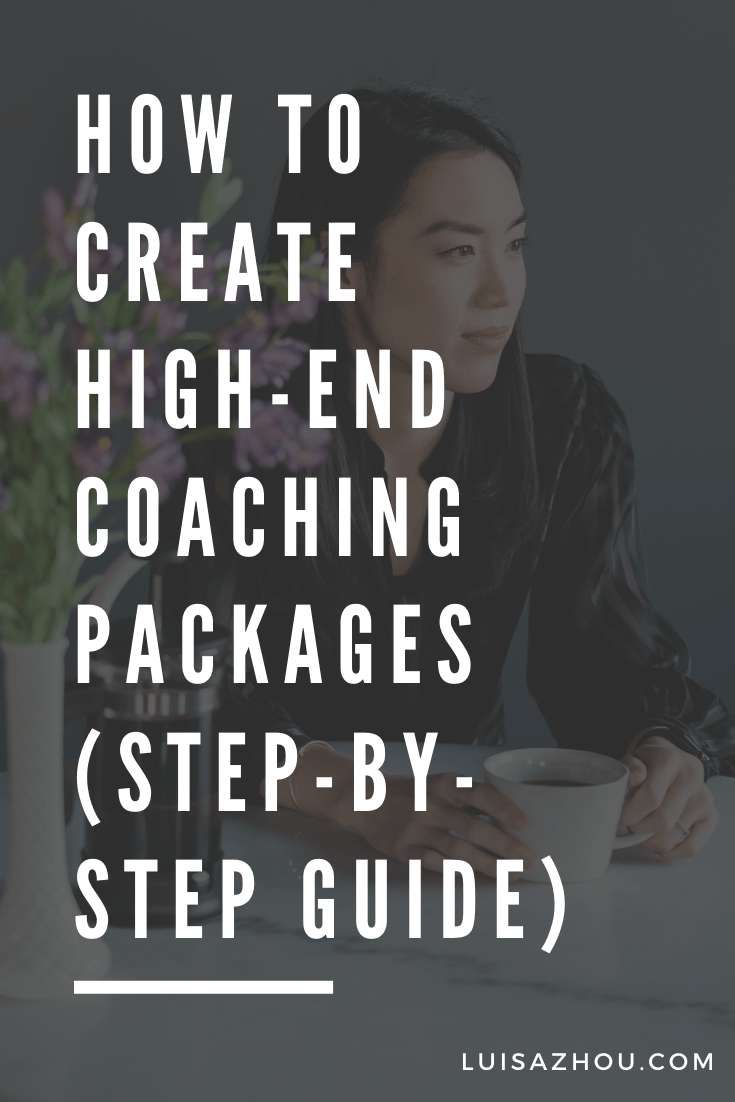 coaching packages pin