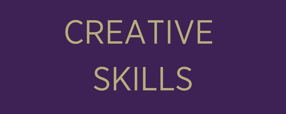 creative skills banner